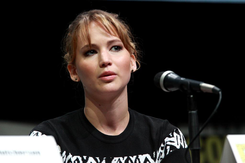 La actriz, Jennifer Lawrence. Imagen de archivo