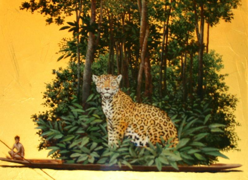 Pintura de Pedro Ruíz. Pinterest.