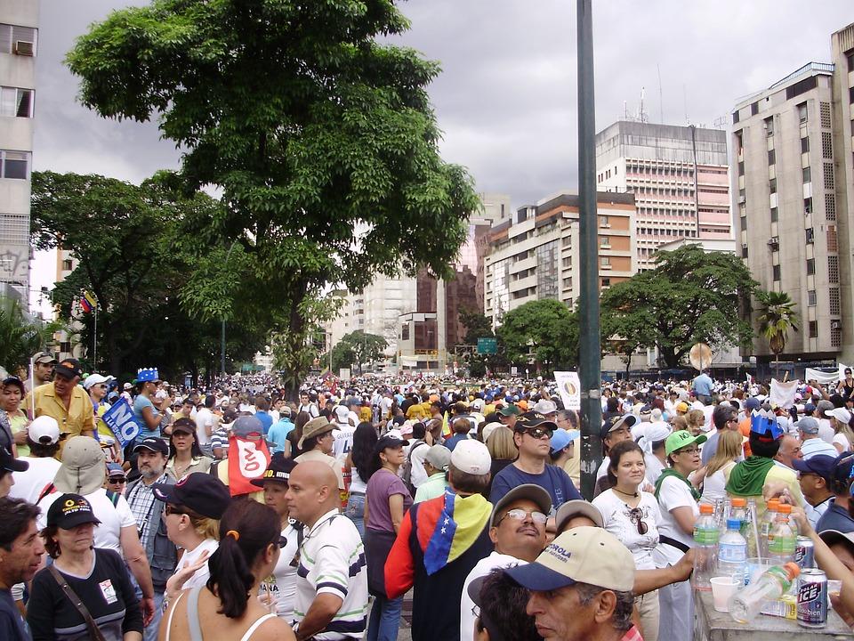 Protestas en Venezuela. Imagen de archivo.