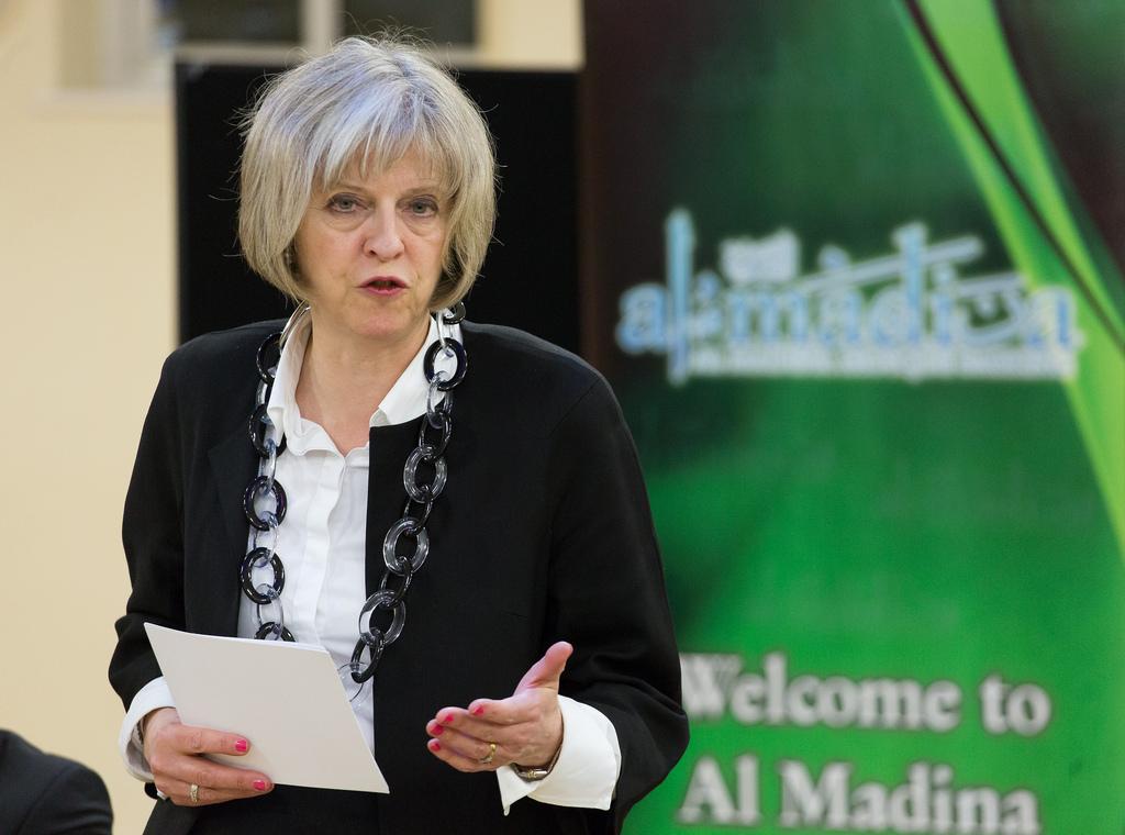 La primera ministra de Reino Unido, Thresa May. Imagen de archivo.