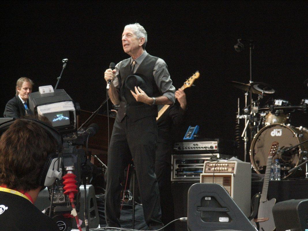 El legandario cantante Leonard Cohen. Imagen de archivo.