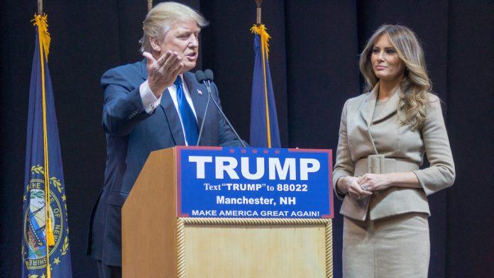 Donald y Melania Trump. Imagen de archivo.