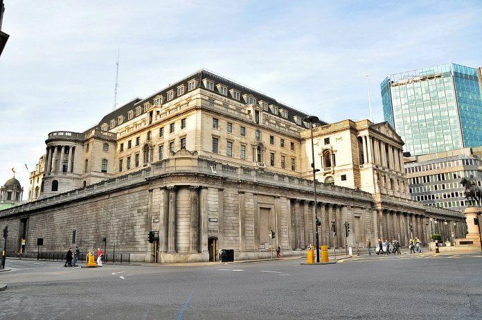 Sede del Banco de Inglaterra, Londres. Imagen de archivo.
