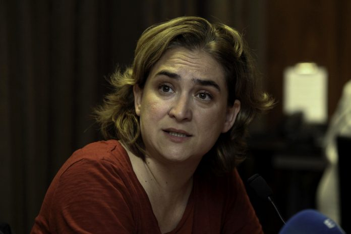 Ana Colau, alcaldesa de Barcelona. Imagen de archivo.