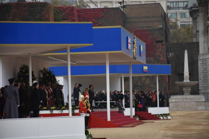 Visita de Estado de Juan Manuel Santos a Reino Unido. Elizabeth Santana.
