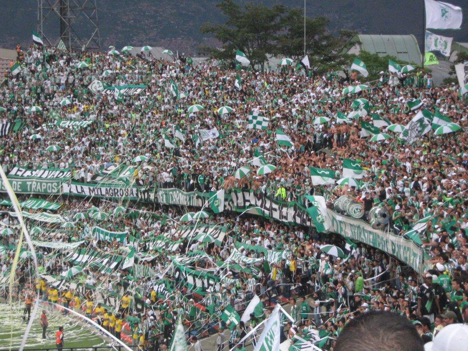 Afición del Atlético Nacional. Imagen de archivo.