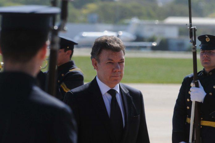 Juan Manuel Santos, presidente de Colombia. Imagen de archivo.