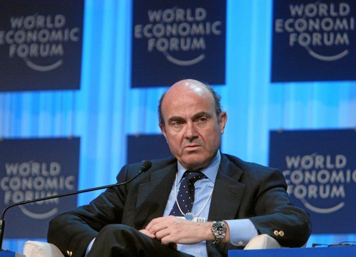 Luis de Guindos, ministro de Economía de España. Imagen de archivo.