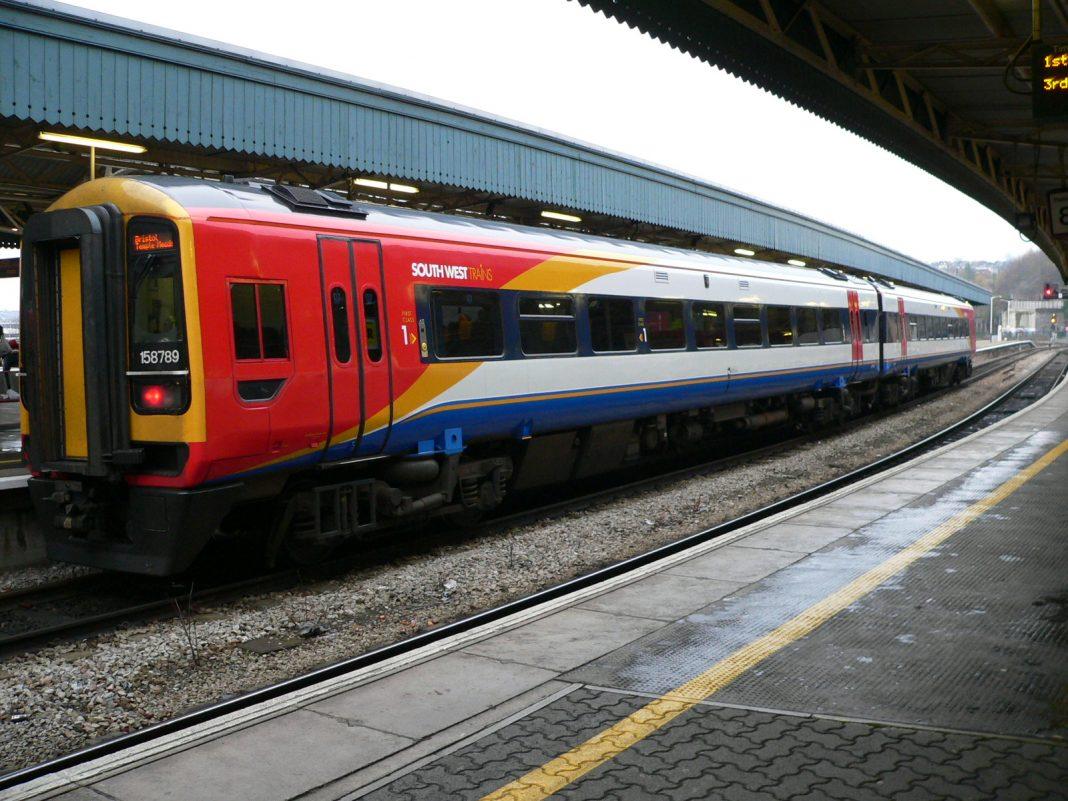 Las malas condiciones meteorológicas provocaron retrasos en los trenes. Imagen de archivo.