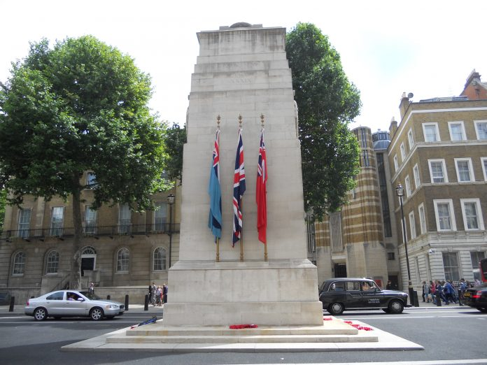 Cenotafio de Londres. Imagen de archivo.