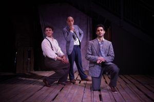 Actores de la Spanish Theatre Company durante el ensayo de Bodas de sangre. Elena Molina.