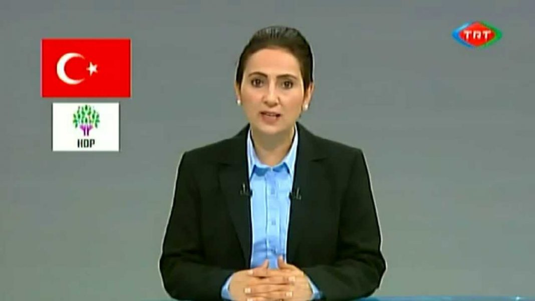 Figen Yüksekdag, copresidenta del Partido Democrático de los Pueblos. Imagen de archivo.