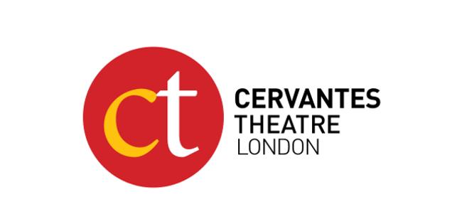 Logo del Cervantes Theatre. Imagen de archivo.