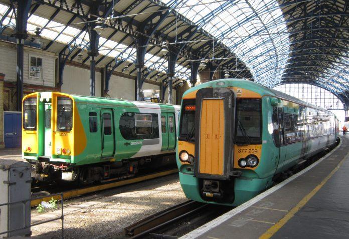 Huelga de trenes causa caos en el transporte. Imagen de archivo.