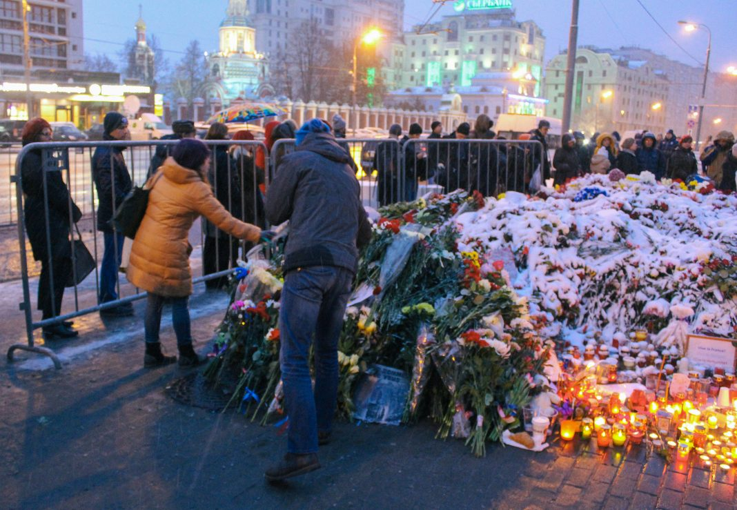 Homenaje a víctimas ataque de París en noviembre de 2015. Imagen de archivo.