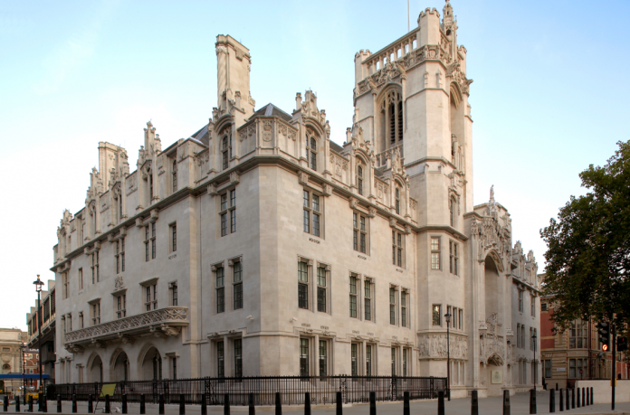 Sede de la Corte Suprema británica. Imagen de archivo.
