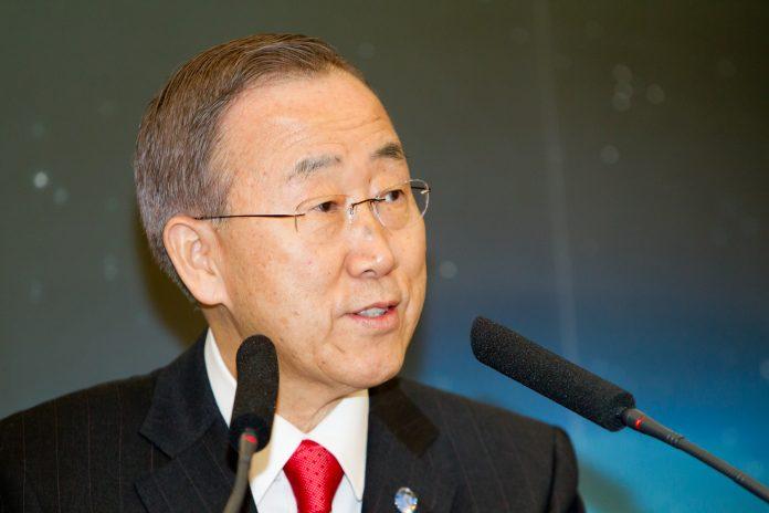 El secretario general de la ONU, Ban Ki-moon. Imagen de archivo.