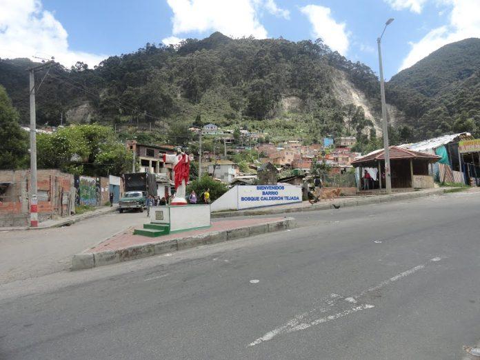 Bosque Calderón Tejada, lugar donde fue raptada la menor. Panoramio.