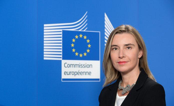 Federica Mogherini, la alta representante para la Política Exterior de la Unión Europea. Imagen de archivo.