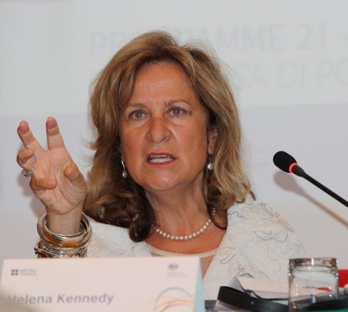 La abogada y experta en Derechos Humanos, Helena Kennedy. Imagen de archivo.