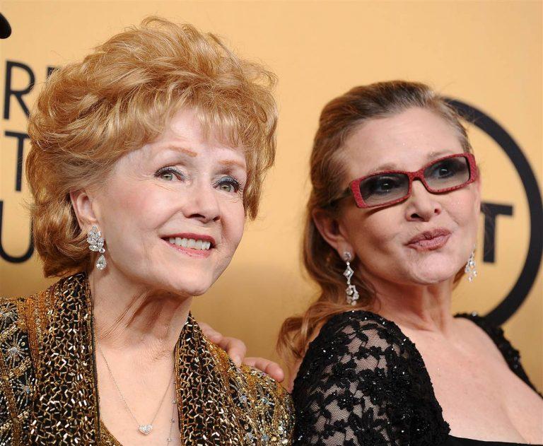 Muere Debby Reynolds, icono del  Hollywood dorado y madre de Carrie Fisher