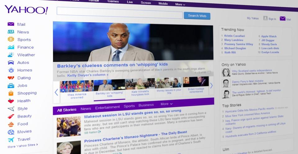 Yahoo sufre ataque cibernético. Imagen de archivo.