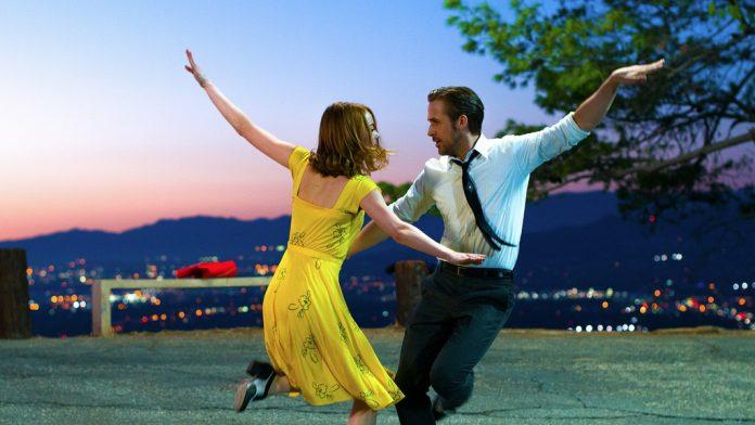 Ryan Gosling y Emma Stone en La La Land. Imagen de archivo.