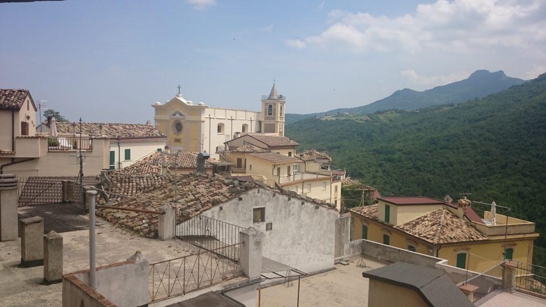 El hotel estaba cerca de Farindola, Italia. Imagen de archivo.