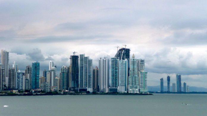Horizonte de Panamá. Imagen de archivo.
