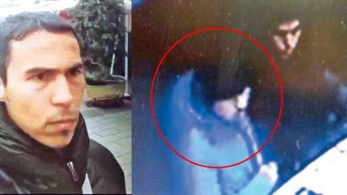El supuesto autor del atentado de Estambul. El Confidencial.