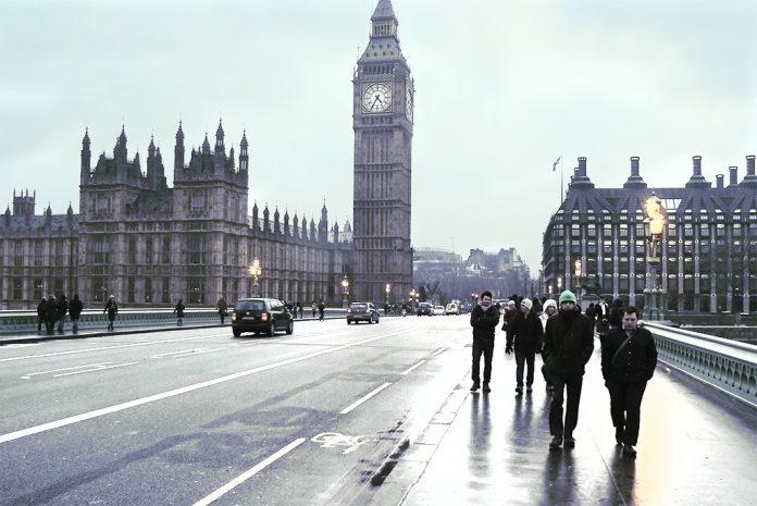 Londres se prepara para una ola de frío esta semana. Imagen de archivo.