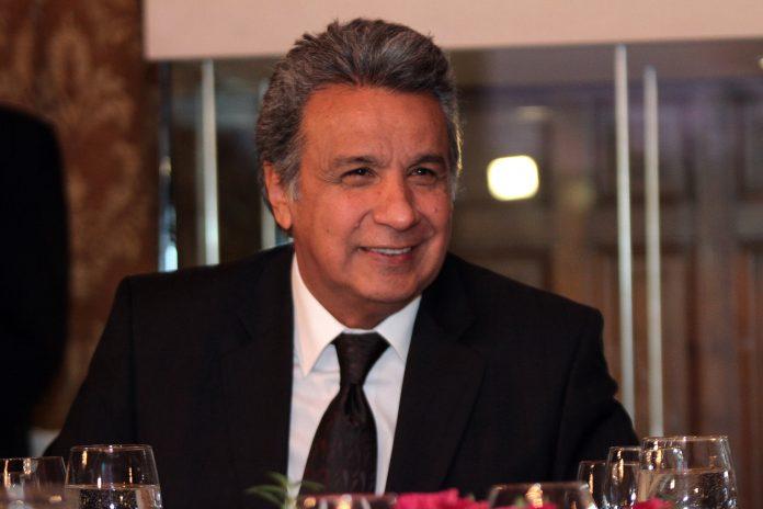 Lenin Moreno, candidato a las presidenciales de Ecuador. Imagen de archivo.