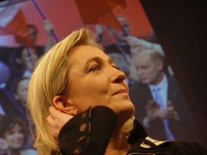 La candidata presidencial francesa por el Frente Nacional, Marine Le Pen. Imagen de archivo.