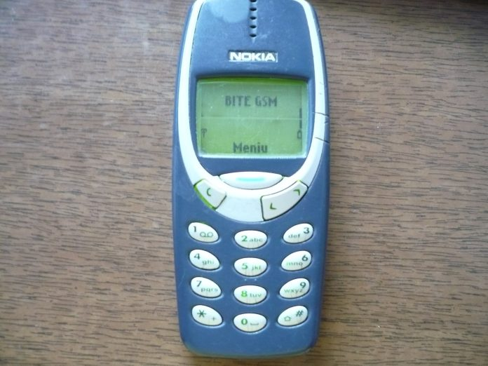 El móvil Nokia 3310. Imagen de archivo.