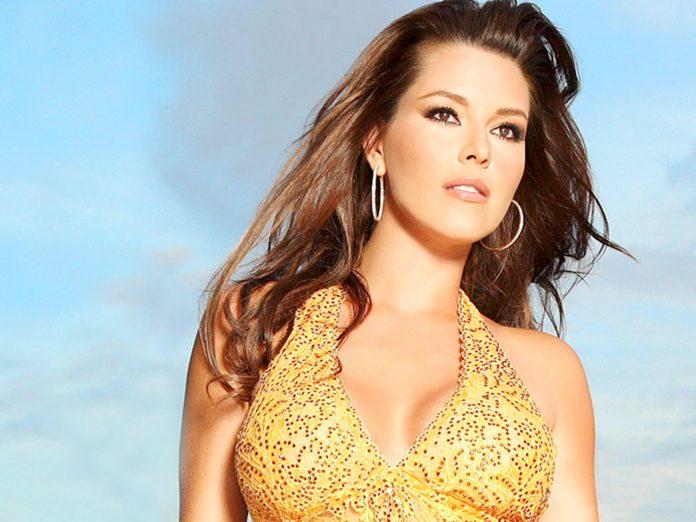 La ex miss Universo venezolana, Alicia Machado. Wonkette.