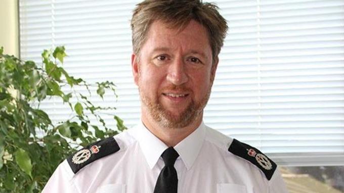 Simon Bailey, jefe de la operación Hydrant. Police Proffesional.