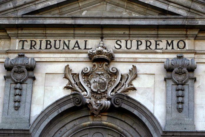 Fachada del Tribunal Supremo de España. Imagen de archivo.
