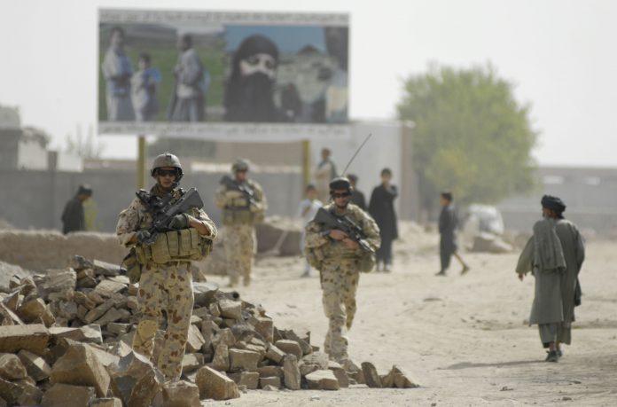 Militares en Afganistán. Imagen de archivo.