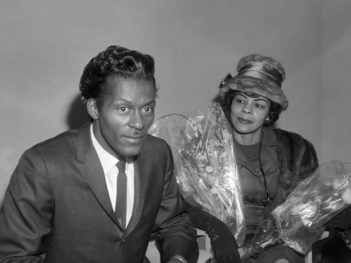 Chuck Berry y Lucy Ann en 1965. Imagen de archivo.
