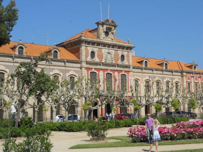 Palau del Parlament de Catalunya. Imagen de archivo.