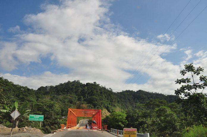 Tramo de la Carretera Interoceánica Sur. Imagen de archivo.