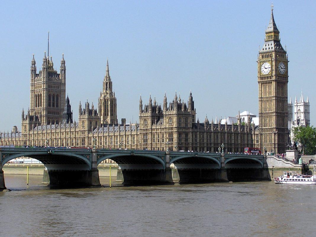 Las Casas del Parlamento. Imagen de archivo.
