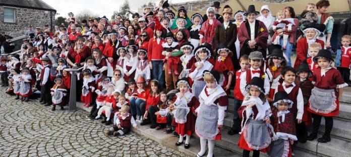 Galeses celebrando el día de San David. Politics Home.
