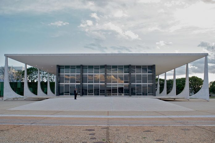 Sede del Supremo Tribunal Federal de Brasil. Imagen de archivo.