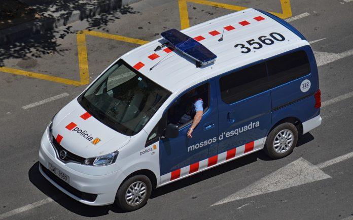 Los mossos d'Esquadra detuvieron a cuatro sospechosos y e hicieron 12 registros. Imagen de archivo.