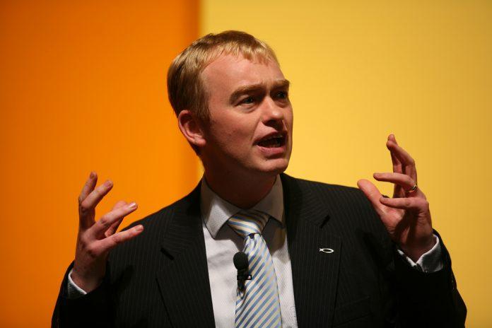 El líder liberaldemócrata, Tim Farron. Imagen de archivo.