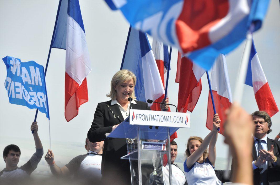Marie Le Pen, candidata presidencial francesa por el partido Frente Nacional. Imagen de archivo.