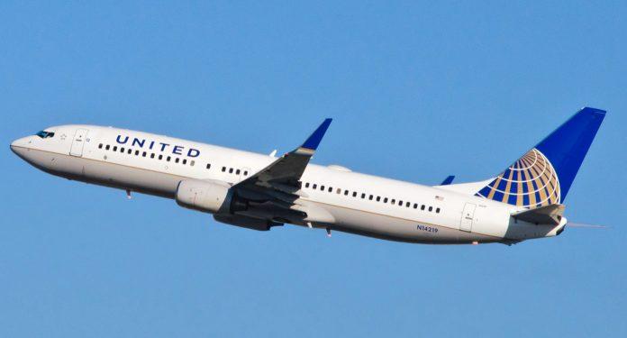 Avión de la aerolínea United Airlines. Imagen de archivo.