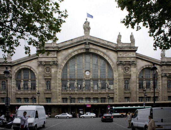 Estación de París Norte. Imagen de archivo.