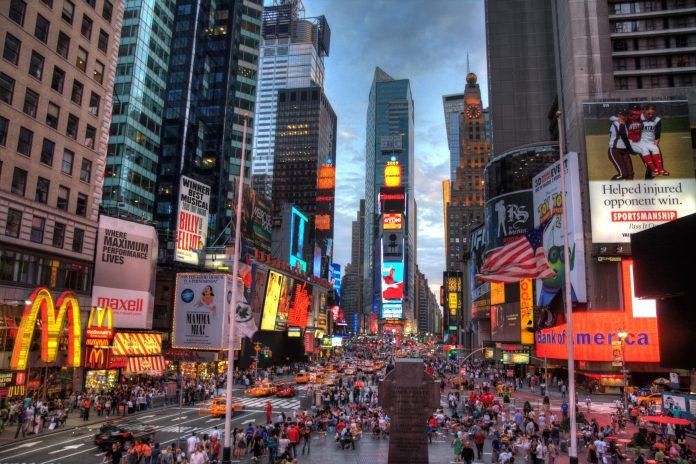 El atropello se produjo en Times Square en Nueva York. Imagen de archivo.